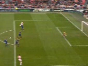 Un pusti SENZATIONAL fura lovitura NEBUNA a lui Adrian Ilie! Man United si City pornesc un razboi de milioane dupa faza asta! Ce gol genial a dat