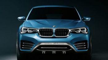 FOTO BMW a lansat noul X4! Primele imagini au aparut deja pe net! Ce schimbari aduce fratele mai mic al lui X6: