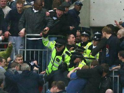 Calificare ISTORICA in finala FA Cup: Millwall 0-2 Wigan! A fost NEBUNIE pe Wembley, fanii lui Millwall s-au batut cu politia in tribune! VEZI GOLURILE