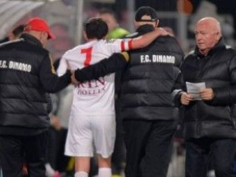 Catalin Munteanu a revenit IN CARJE! Capitanul lui Dinamo a fost impresionat de gestul colegilor sai! Cat timp sta pe bara: