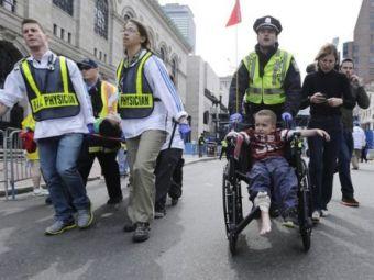"""Marturii CUTREMURATOARE de la Boston: """"Atat de multi oameni fara picioare! E sange peste tot!"""" Cum au reusit sa se salveze:"""