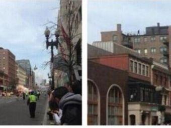 Aparitie MISTERIOASA la locul exploziilor in Boston! Silueta omului suspectat de autoritati! Un arab e primul pe lista americanilor: