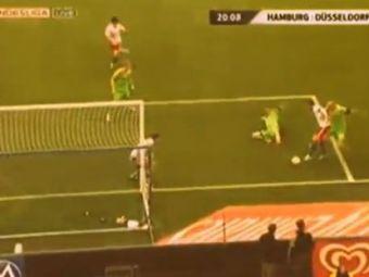 Asta inseamna GENIU in fotbal. Priveste imaginea! Iti dai seama cum se marcheaza golul?