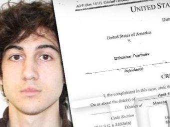 Ultima Ora! Teroristul de la Boston a RECUNOSCUT! Americanii l-au pus sub acuzare imediat! Risca pedeapsa cu moartea!