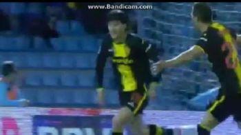 VIDEO Sapunaru, gol in derby-ul salvarii pentru Zaragoza! Cum a inscris in poarta Celtei Vigo!