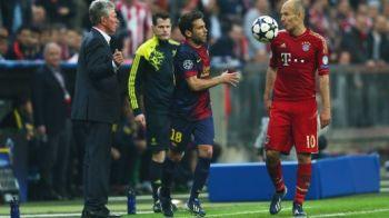 Barcelona NU stie sa piarda, jucatorii lovesc adversarii! Robben a fost UMILIT de Alba la o faza aiurea! Ce a patit a scandalizat tot STADIONUL: