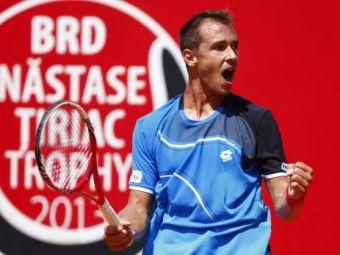 Lukas Rosol a castigat turneul BRD Nastase-Tiriac Trophy! L-a batut in doar doua seturi pe Guillermo Garcia-Lopez! Gest emotionant al campionului: