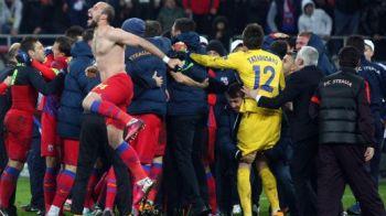Se bucura Steaua zici ca e Bayern! Chiriches si Rusescu au primit cea mai tare idee pentru MEGA SARBATOAREA de titlu: cum au petrecut nemtii de la Bayern: VIDEO