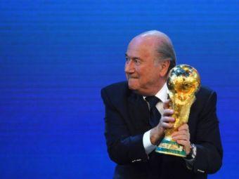 """SOCANT: """"Au fost interventii, dar nu are nimeni dovezi despre voturi cumparate!"""" Ce se intampla la FIFA in spatele usilor inchise! Anuntul OFICIAL facut de Blatter:"""