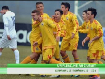 """Viitorul suna GROAZNIC! Romania, calcata in picioare de Germania la juniori: """"Nu mai inteleg nimic!"""" 1-10, rezultatul pentru care nu exista nicio explicatie:"""