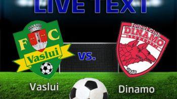 Vaslui 4-1 Dinamo! EuroPATRU a luat Dinamo, cu Vaslui in 10 si Sanmartean doar 30 min! Dinamo are sanse de 0,01% pentru Europa League!