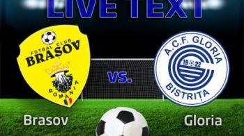 Brasov face spectacol inainte de meciul cu Steaua! Enceanu a reusit o dubla in 3 minute, Oltean a fost eliminat! Brasov 4-1 Gloria