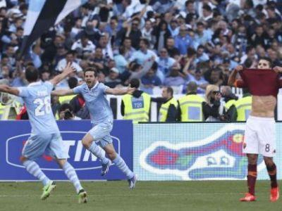 Lazio a castigat Cupa Italiei: Lobont si Radu Stefan, titulari in Roma 0-1 Lazio! Coreeanul Psy a fost dat afara de pe Olimpico de ultrasi :)