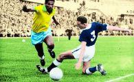 Un 'handicapat' a fost mai bun ca PELE! Povestea lui Garrincha, magicianul betiv al fotbalului, si a celor 3 minute care au schimbat totul VIDEO
