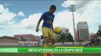Exista viitor pentru Liga 1, cel putin cu numele! Messi de la Ploiesti si Ronaldo din Arad se intrec la Cupa Hagi! VIDEO