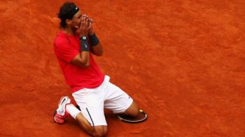 The KING is back: Nadal, CAMPION la Roland Garros, dupa ce a stat 8 luni pe bara! Rafa Nadal - Ferrer 6-3; 6-2; 6-3!