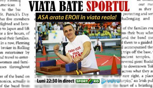 Seara adevaratilor campioni: doi sportivi cu dizabilitati, un roman si un bulgar, se intrec la masa de skandenberg! ACUM IN DIRECT la Sport.ro