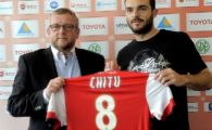 Franta, pamant romanesc! Dupa Banel, Mutu, Roman si Keseru, Chitu a fost prezentat oficial la Valenciennes! Presedintele clubului a fost vrajit de fosta vedeta de la Viitorul: