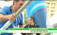 Nationala Romaniei, condusa de Victor Ponta la JO! Baschetul 3 la 3 poate deveni sport olimpic; Premierul si-a aratat CLASA la Wiz Air Sport Arena Streetball: VIDEO