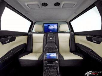 FOTO Mercedes lanseaza DISTRUGATORUL de Rolls Royce! Nemtii reinventeaza luxul. Cum arata limuzina de 200.000 de euro!
