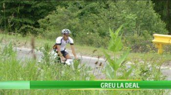 """""""E chinuitor de frumoasa!"""" 100 de curajosi au luat startul in campania Prosport: """"Cu bicicleta la munte""""! Cati s-au mai intors pe ploaie la Bucuresti:"""
