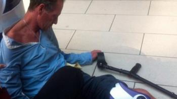 "Imagini SOCANTE! ""O sa moara in cateva saptamani!"" Gascoigne a fost gasit inconstient pe un trotuar! FOTO:"