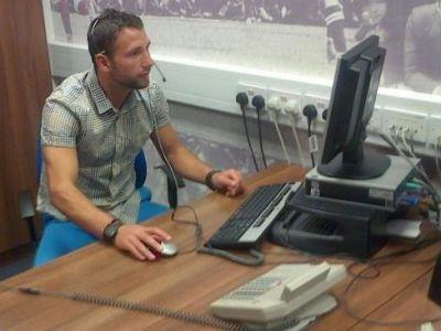 FOTO: Prima misiune a lui Rat in Premier League! Ce l-au pus sa faca oficialii clubului West Ham: