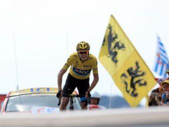 """Froome se jura ca nu fura! Reactia dupa parcursul fabulos din ultima etapa: """"Lance Armstrong a trisat, eu nu trisez"""""""