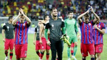 """Momente senzationale dupa meciul cu Vardar! Jucatorii au fost chinuiti pe teren: """"Bai, tu nu te plange, macar poti sa alergi!"""" De ce a fost Tatarusanu cel mai suparat stelist:"""