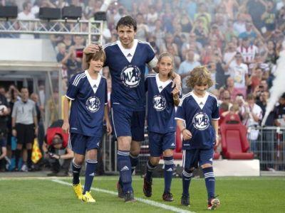SPECTACOL in meciul de adio al unei LEGENDE de la Bayern, Milan si Barca! Robben, Ibra si Ribery au facut SHOW! VIDEO
