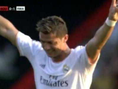 Realul a inceput ERA Ancelotti, Ronaldo inscrie la primul meci sub comanda italianuluI! Executie MAGICA din lovitura libera, de la 25 de metri: VIDEO