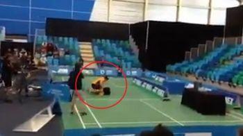 Incident halucinant in timpul finalei! In urma cu un an participau impreuna la JO, acum s-au luat la bataie in timpul meciului! Momente nemaivazute: VIDEO