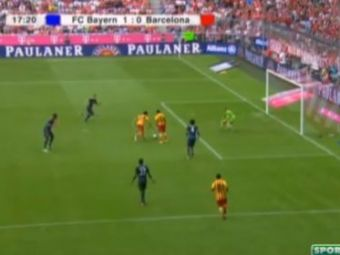 S-a speriat cand a ajuns fata in fata cu Neuer! Cum a ratat pustiul care vrea sa-i ia locul jucatorului de 150 de mililioane € al Barcei: VIDEO