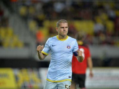 """Bourceanu se gandeste la un transfer: """"Imi doresc si eu mai mult!"""" Capitanul Stelei, dezamagit de fani! Ce a spus despre Dinamo Tbilisi:"""