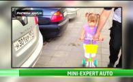 VIDEO La recunosti pe toate? O fetita i-a lasat masca pe toti! Cate masini a recunoscut intr-o parcare!
