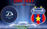 Visul Champions League continua: Dinamo Tbilisi 0-2 Steaua! Dubla Iancu, Tanase a facut meciul VIETII! Tatarusanu a aparat penalty la 0-0!