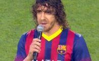 Mesaj EMOTIONANT al lui Puyol inainte de meciul cu Santos! Tot stadionul a aplaudat in picioare cuvintele capitanului! Ce i-a transmis lui Tito Vilanova: