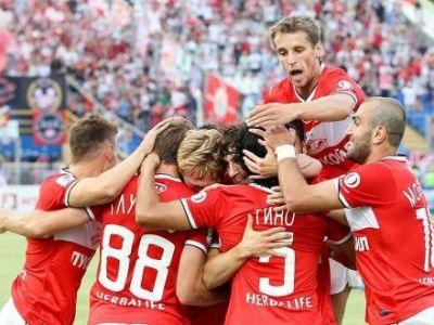 Dorinel Munteanu a fost aproape sa dea lovitura dar a fost egalat de Spartak cu un GOL GENIAL! VIDEO Sutul magic care s-a oprit doar in vinclu:
