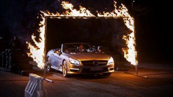 VIDEO David Coulthard a ramas fara CUVINTE! Scamatoria INCREDIBILA a magicianului Dynamo! Ce face cu o masina pe pista: