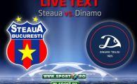 Steaua e in Play OFF! Stelistii s-au chinuit in repriza a doua insa merg mai departe spre Grupele UCL! Vezi toate fazele din Steaua 1-1 Dinamo Tbilisi: