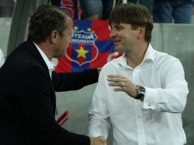 """""""Steaua are 5 jucatori care pot ajunge la echipe mari din Europa!"""" Uhrin isi scoate palaria in fata Stelei: """"A fost mai buna"""""""