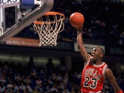 VIDEO Forma e temporara, GENIUL e permanent! Jordan rupe inelul si la 50 de ani! Slam dunk-ul demential cu care a ridicat sala in picioare: