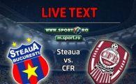 Steaua 3-0 CFR Cluj! Piovaccari, Popa si Tanase s-au intrecut in MEGA EXECUTII! CFR, distrusa la primul meci cu Grigoras! Cadu a gresit la primul gol: