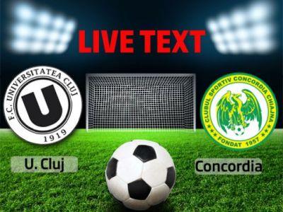 SENZATIE! Chiajna, peste Dinamo si CFR in clasament! U Cluj 0-3 Concordia Chiajna! Pleaca Ganea?