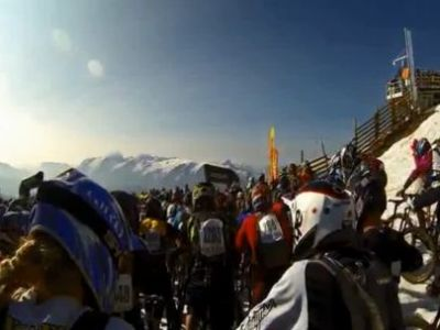 Cursa care iti va da FIORI RECI! Cum arata cea mai periculoasa intrecere din Alpi: MEGAVALANCHE!