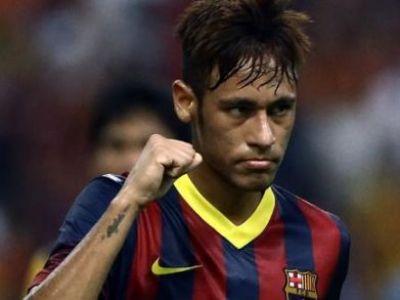 Neymar a salvat-o pe Barca! Supercupa Spaniei: Atletico 1-1 Barcelona! Returul va fi pe Camp Nou! Brazilianul e la primul gol oficial! Messi s-a suparat! VIDEO
