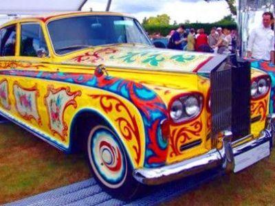 Povestea primului Rolls Royce Phantom 'tunat' de tigani! Colectia impresionanta de masini The Beatles:
