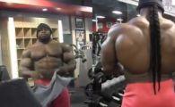 """Monstrul de 130 de kg care poate castiga Mr. Olympia arata FENOMENAL: """"Sunt la Mecca bodybuildingului"""" VIDEO"""
