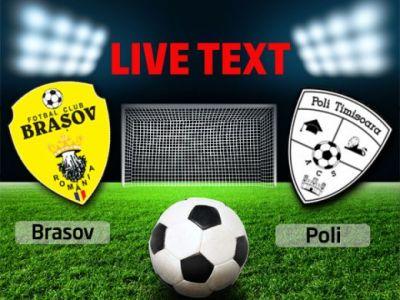 Andrei Cristea, gol in minutul 94! FC Brasov 2-1 ACS Poli Timisoara! Poli pierde podiumul dupa infrangerea asta!