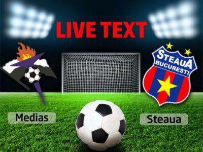 Gafa INCREDIBILA Tatarusanu, dubla superba Filip! Steaua a TREMURAT la Medias inaintea returului cu Legia: Gaz Metan 2-2 Steaua!